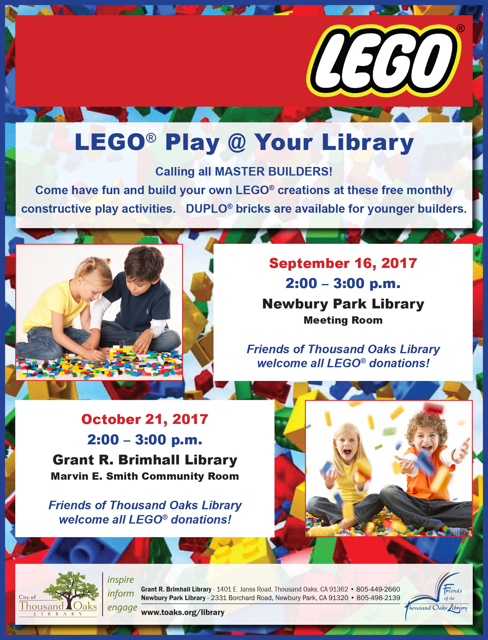 Lego Flyer - Fall 2017