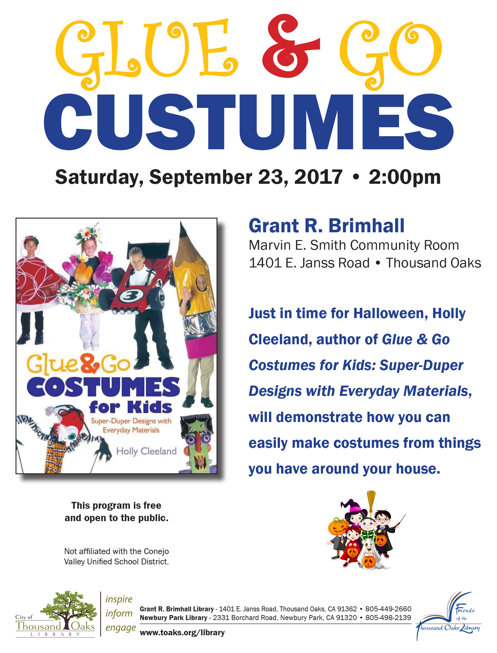 glue go sept 2017 - Halloween Costumes Thousand Oaks
