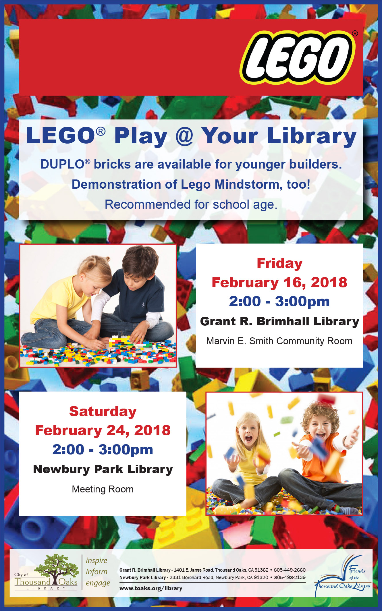 LEGO Flyer - Feb 2018