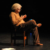 Duffy Hudson as Albert Einstein