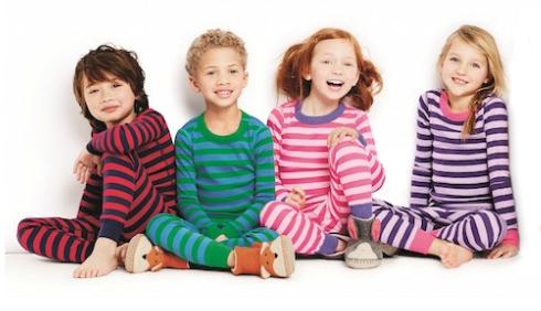kids with pajamas