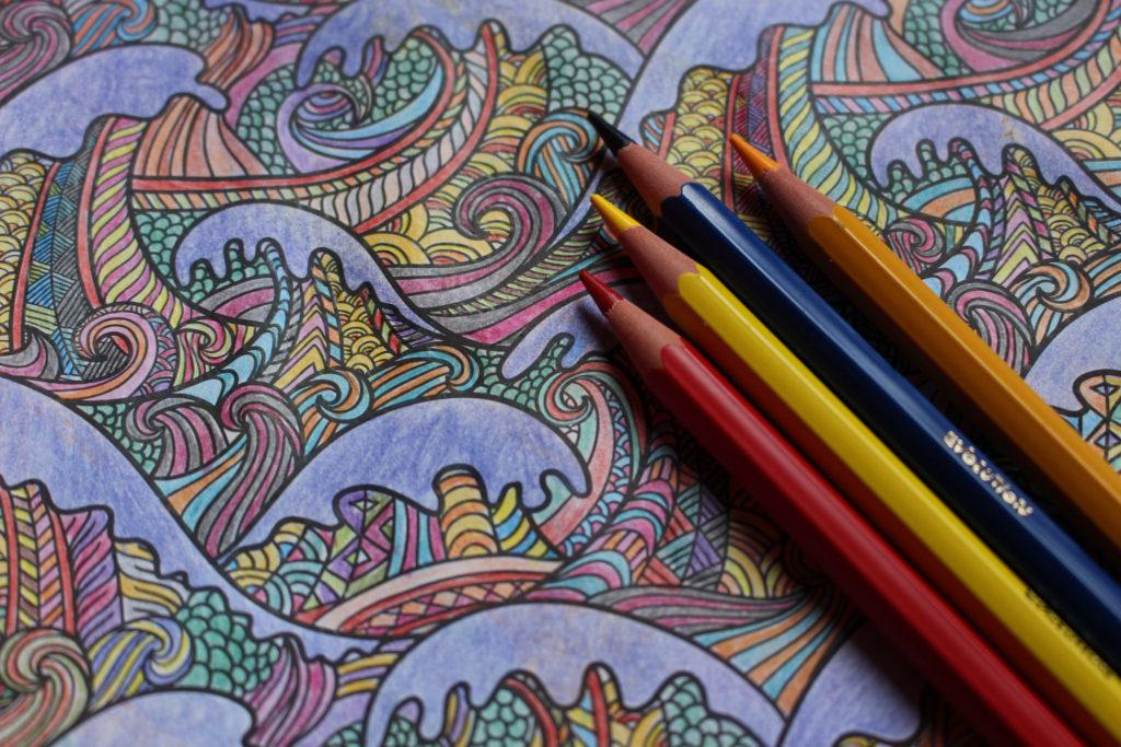 adult coloring a program