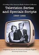 television series and specials scripts 1946-1992 cover