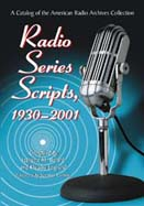 radio series scripts 1930 2001 cover