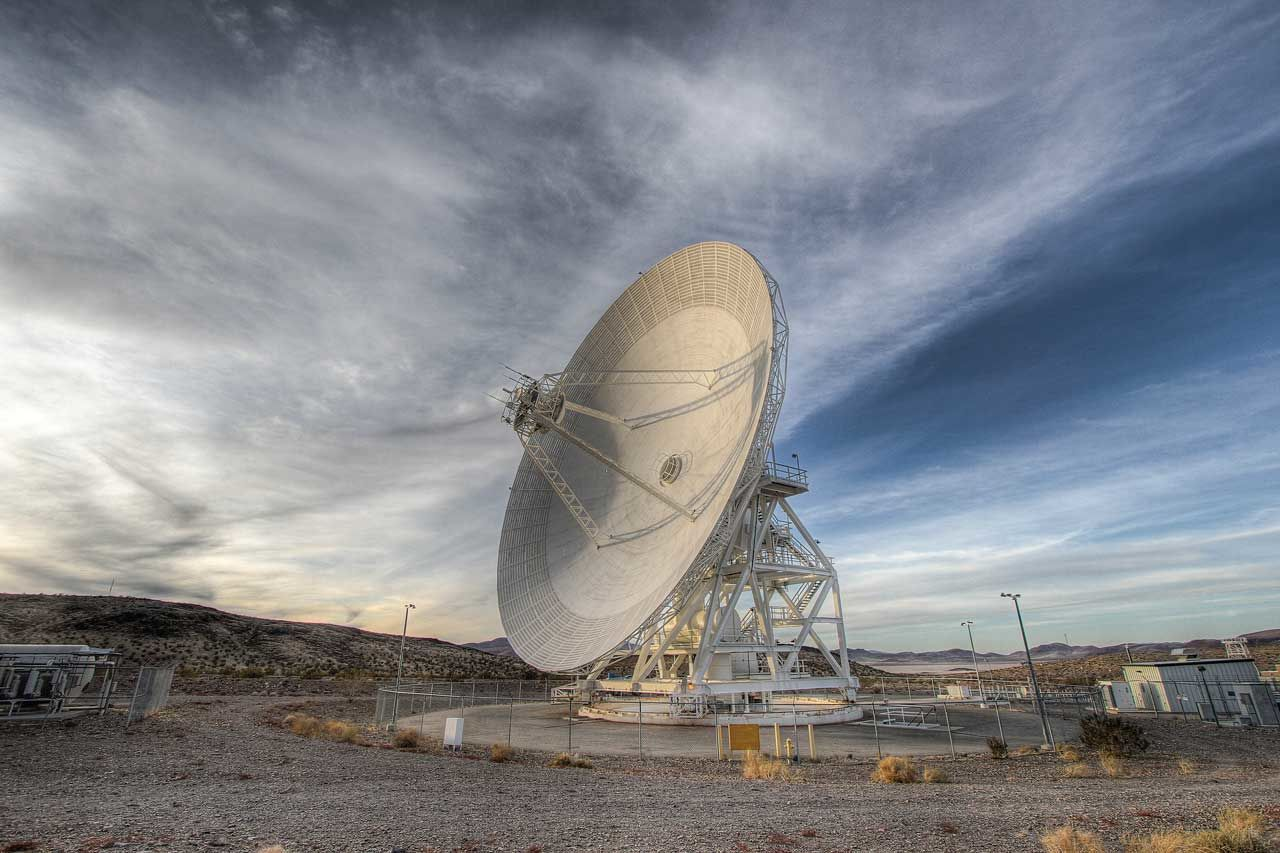 Deep Space Network dish