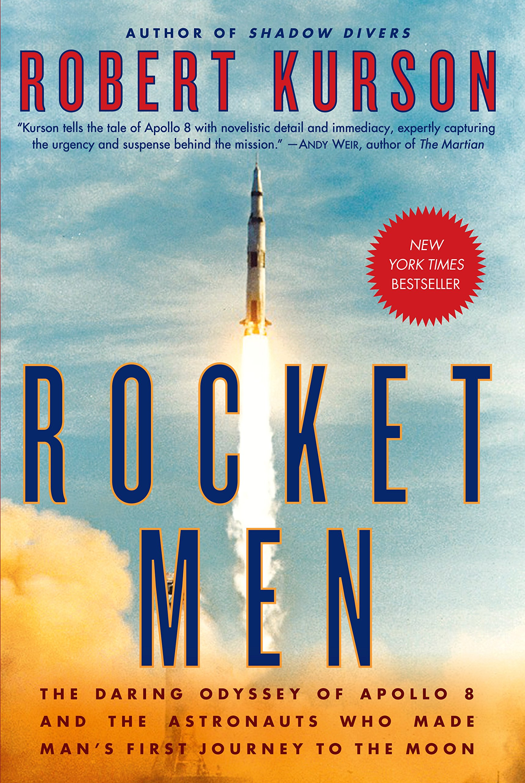 Rocket Men by Robert Kurson COVER