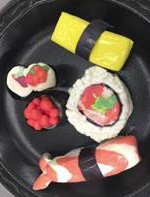 Model Magic Clay Sushi Class
