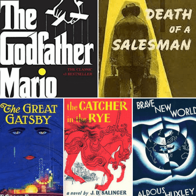 famous book covers