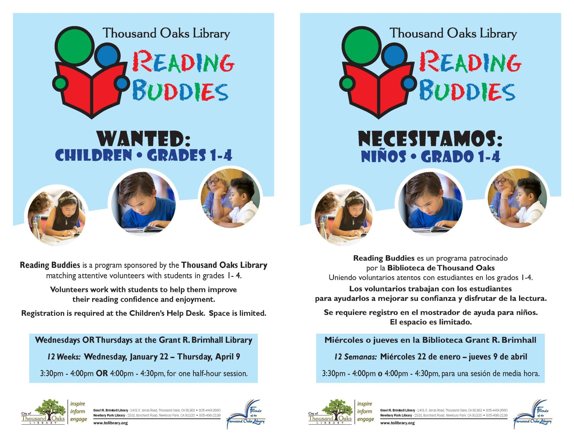 Reading Buddies - EngSpan2020