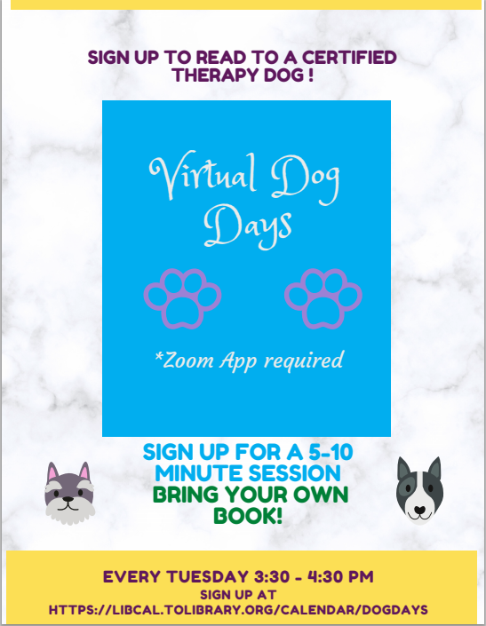 dog days flyer revision