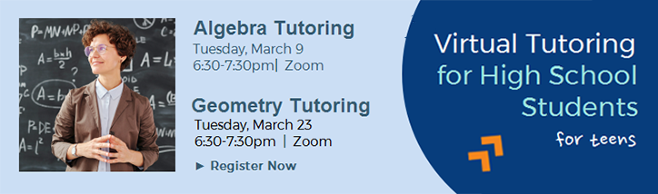 Virtual tutoring March21 banner