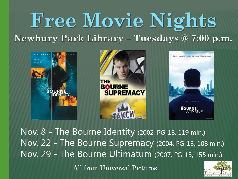 Movie Nights at NP Library | Calendar List View | Thousand Oaks, CA