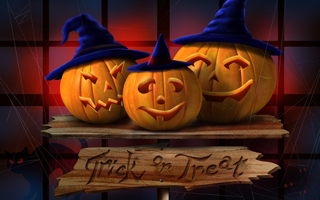 Halloween-art